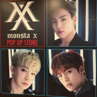 渋谷109 MONSTA X POP UP STORE