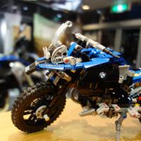 LEGO R 1200 GS Adventure コラボレーション実物展示中!!