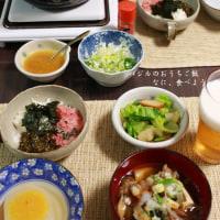 夕食 柚子味噌おでんと肉豆腐