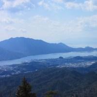 13 高見山・船倉山(559・546m:廿日市市)登山  鉄塔の展望所で