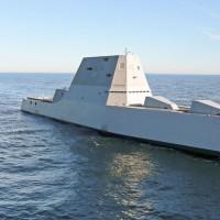 米国の最新鋭駆逐艦ズムウォルトの内部