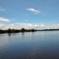 ここが、かつてのレッドアロワナの生息地 センタルン湖!