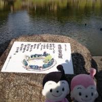 猿沢池から望む興福寺五重塔と南円堂さんだよ~