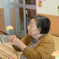 園芸福祉士による花活