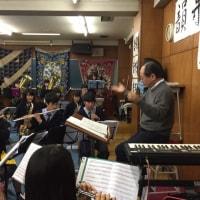定期演奏会の練習