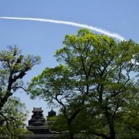 ブルーインパルス @熊本城  2017/4/22(土)&23(日)