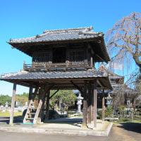 阿弥陀寺と額田城(那珂市)