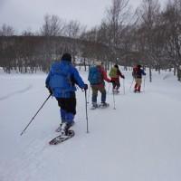 3月25日 冬のスペシャル☆ガイドウォーク「早春の大沼外輪めぐり」開催しました。