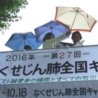 第27回なくせじん肺キャラバン東京終結行動!