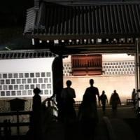 ライトアップの金沢城跡公園 ②