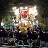海神社 秋祭り  布団太鼓 練り合わせ