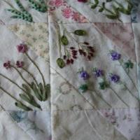 リボン刺繍*四季の花