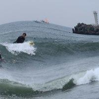 『北浜』 波