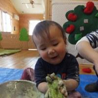 小麦粉粘土楽しかったよ~!