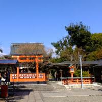 車折神社と梅宮大社の梅