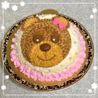 くまちゃんのドームケーキ
