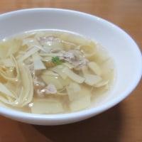 ☆筍の甘皮でスープ☆
