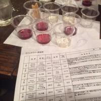 久々のワイン試飲会