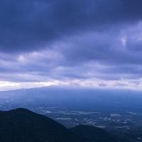 梅雨の合間の富士山撮影