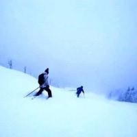 動画から静止画を切り出す。新雪の滑り