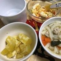 晩ご飯☆チキンカツ&里芋の揚げ出し☆
