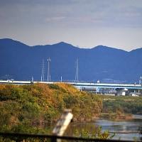 新京阪から京阪が見えた(^^)
