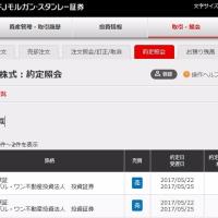 ☆5月22日 三菱のグロワン4口、利確したよ