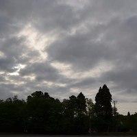 4月26日、午前6時~7時過ぎの空模様