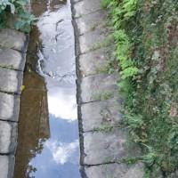 長崎の側溝とか小川はオランダの、