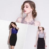 アルカドレスは、可憐なカラーと輝きにマッチした大人っぽいデザインを揃えております