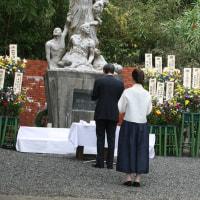 日朝協会京都府連は花束を献花、8名が参列しました。