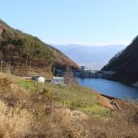 浅川ダム試験湛水53日、貯水率50.51%