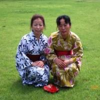 日本語キャンプ 浴衣