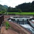 上市川沿岸土地改良区の円筒分水場を見に行く(1)・・・上市町釈泉寺