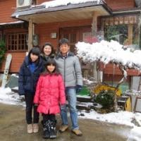 雪を楽しみましたね♪♪ありがとうございました☆