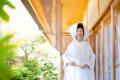 福岡住吉神社の結婚写真その1 撮影:森永健一