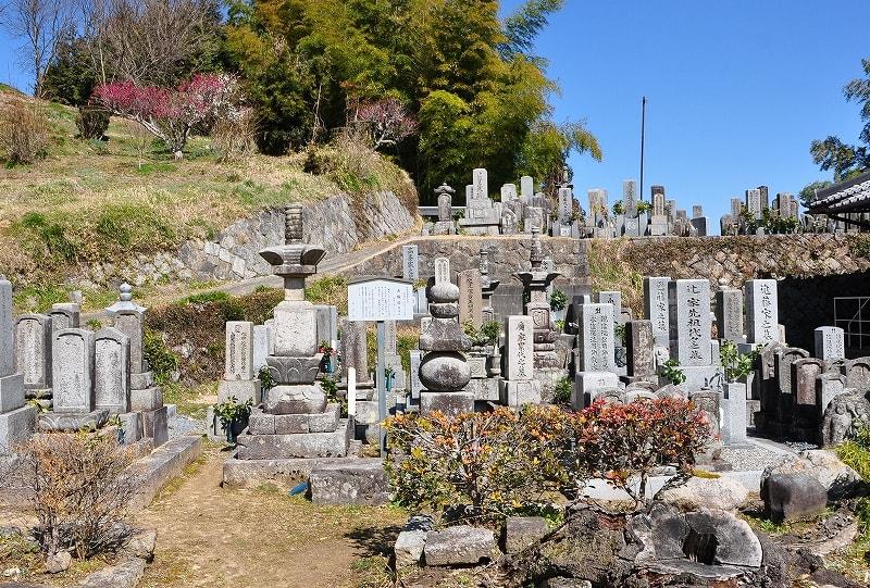 増福寺の墓地
