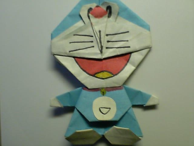 すべての折り紙 折り紙ドラえもんの折り方 : これも引越し中に発掘した物 ...