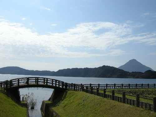池田湖 - 鹿児島の自然と食