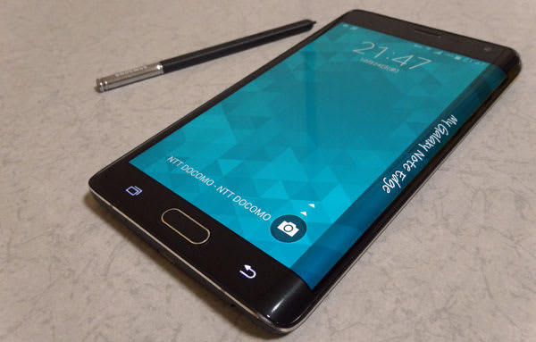 機能満載のGALAXY Note Edge SC-01G