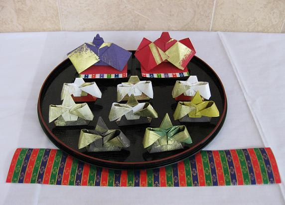 すべての折り紙 三人官女 折り紙 : 折り紙 - カルチャーセンター ...