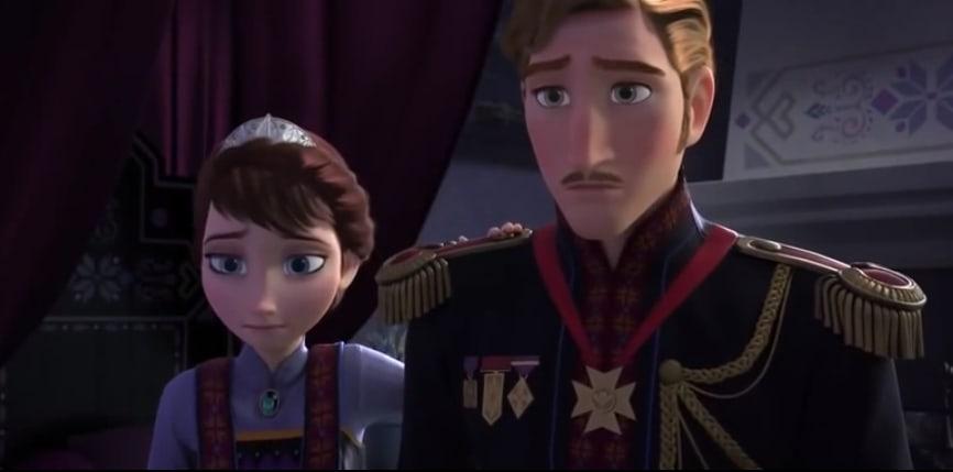 アナと雪の女王・エルサとアナの両親