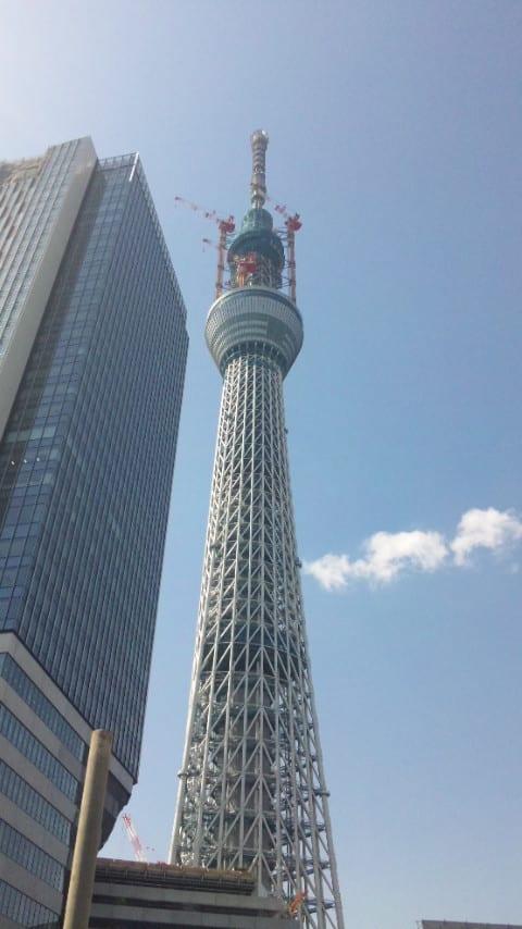 東京スカイツリー634メートル