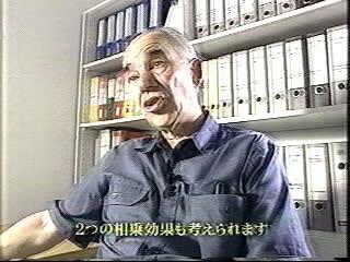 広島ホームテレビ平成17年8月6日放送「テレメンタリー2005「埋もれた警鐘」〜旧ユーゴ劣化ウラン弾被災地をゆく〜」キース・ベイバーストック氏の証言
