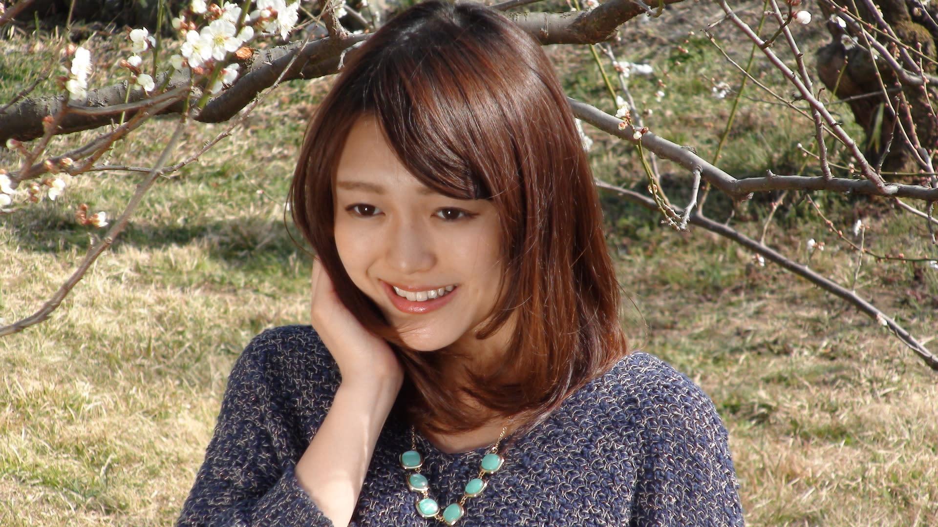 小倉由美 2013 越生梅林梅まつりモデル撮影会