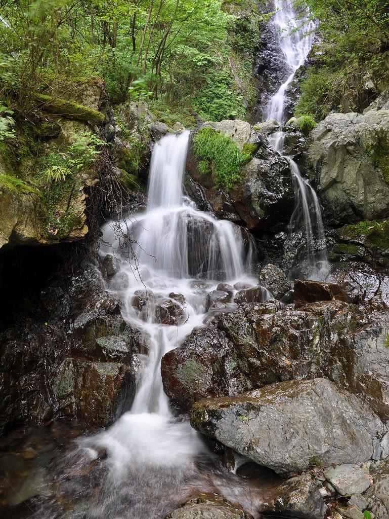 大曲滝下流小滝