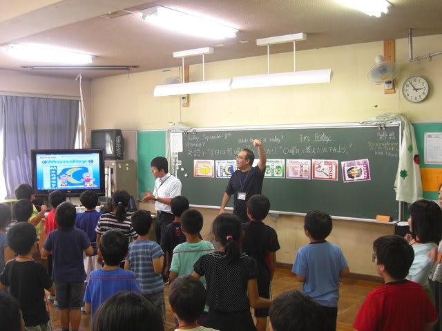 江面第一小学校 活動の様子