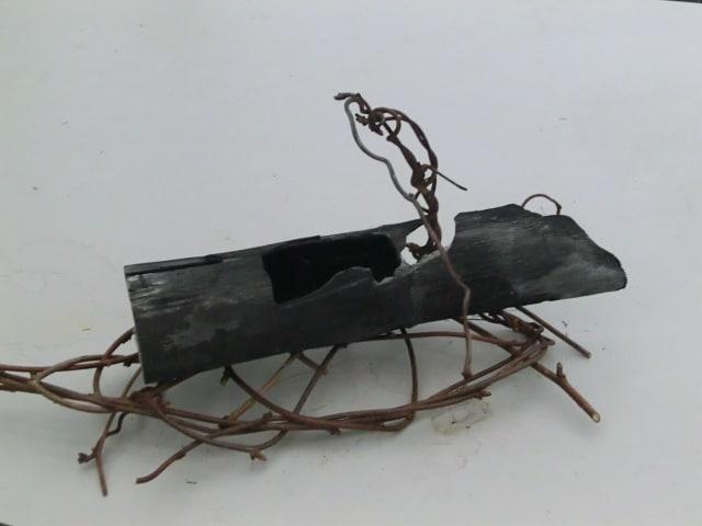 竹炭の置物