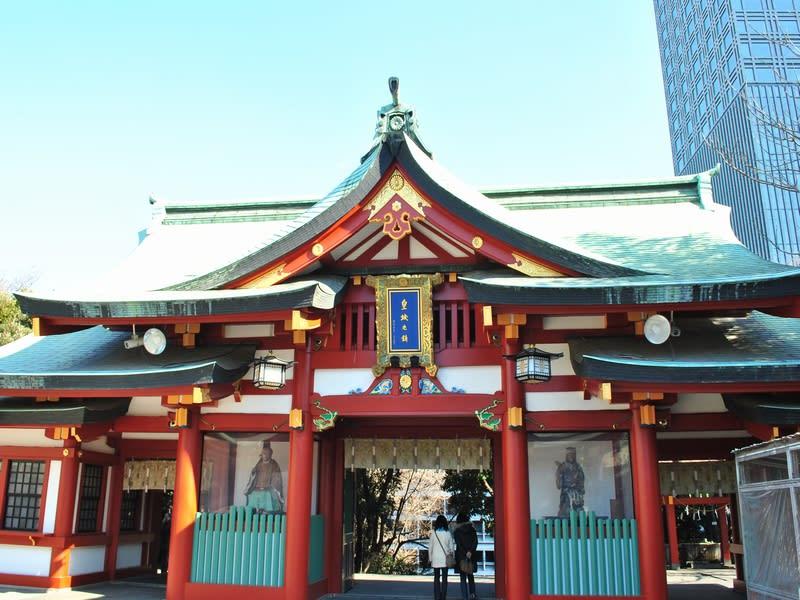 01月24日 山王神社山門(裏)
