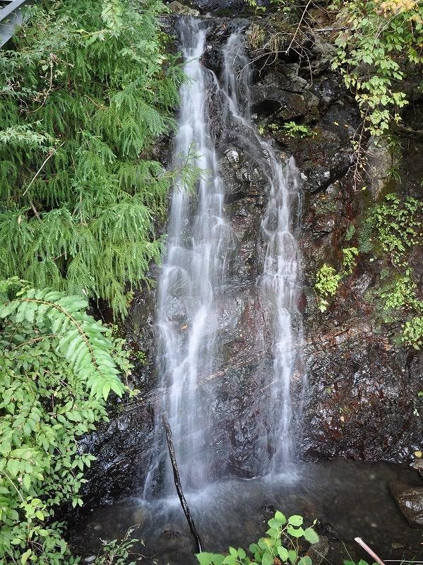 大迫の滝下段